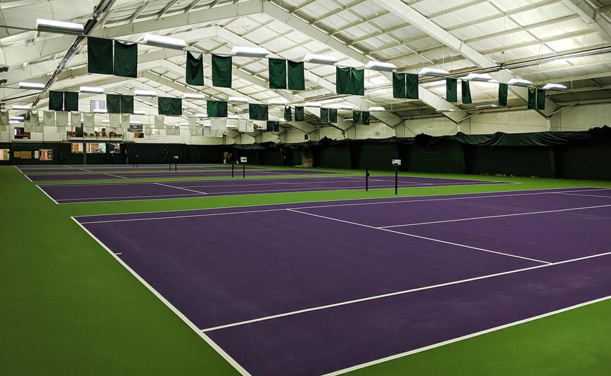 all weather tennis court installation